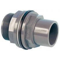 PVC-Durchführung für den Teich- und Filterbau